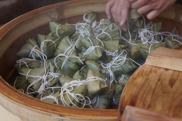 Zongzi (糭子), Neiwan Old Street's signature snack.