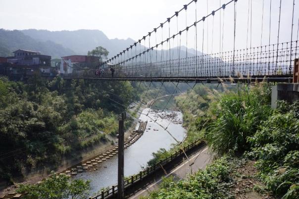 Suspension bridges are popular walks at many tourist sites.