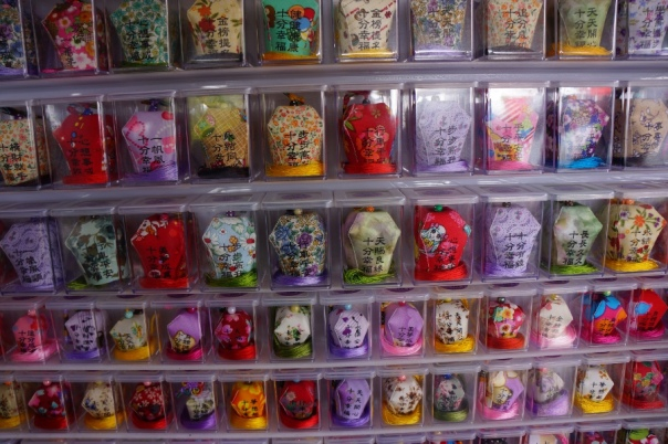 There are countless lantern souvenirs in Shifen.