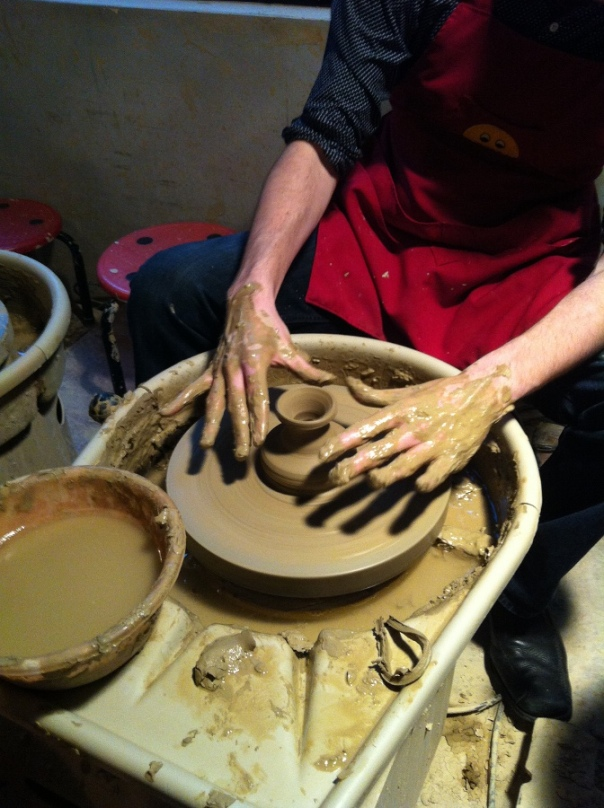Make your own pottery at Yingge Old Street.