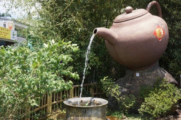 Tea is everywhere in Pinglin 坪林.