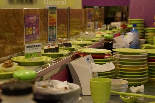 Plates on top of plates on top of plates at Shui Wen.