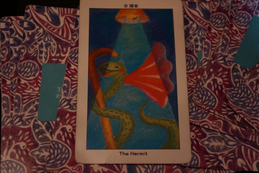In the second tarot activity, I got a better card.