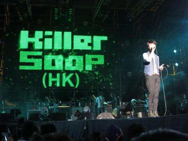 Killer Soop, a nice band from Hong Kong.