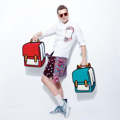 The bags make for fun photos (picture from Jump From Paper's website.)