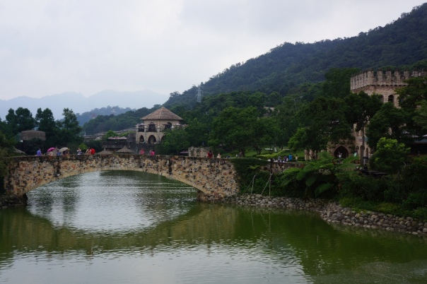 Xinshe Castle 新社莊園 certainly doesn't look like your typical Taiwanese site.