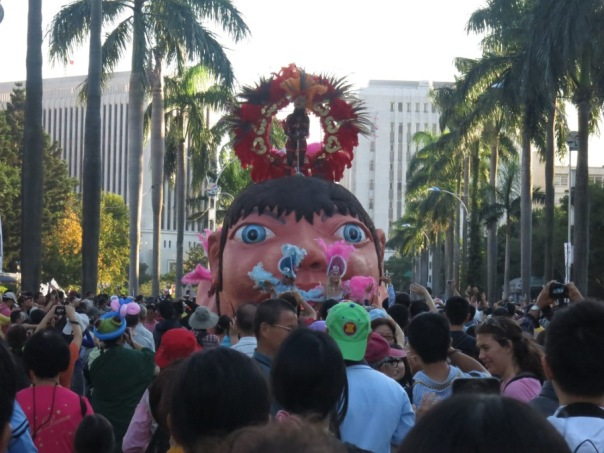 This is not even the strangest thing you will see at the Dream Parade 夢想嘉年華 in Taipei.