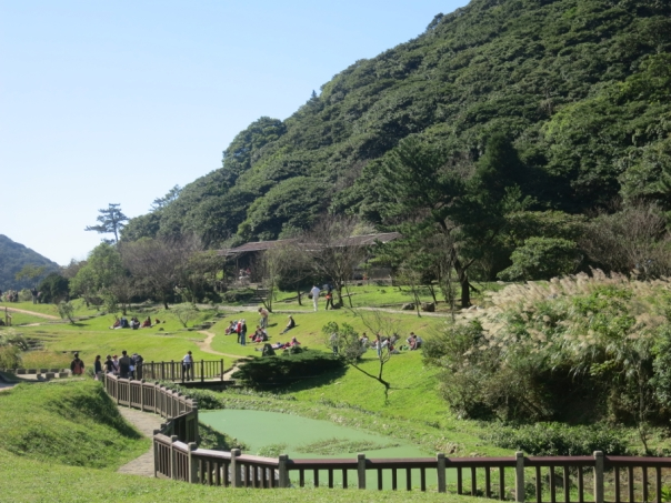 Erziping 二子坪 on Yangmingshan is a very accessible and relaxing destination.